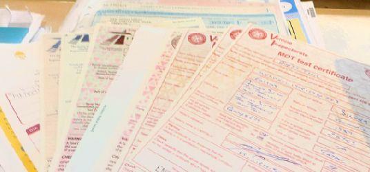 MOT Certificate